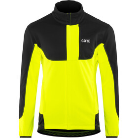 GORE WEAR C5 Windstopper Jas Heren geel/zwart